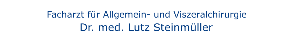 Dr. med. Lutz Steinmüller aus Hamburg header image